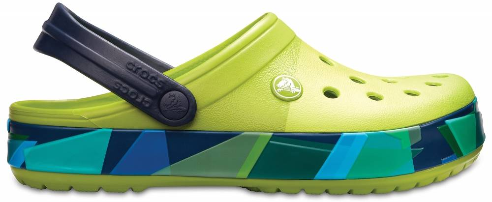 sports shoes f7386 91410 Crocs Clogs Grün Crocband™ Prismatic